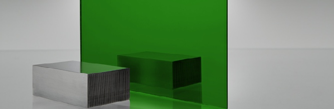 Green 4674 Acrylic Mirror